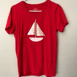 J.Crew Sailboat Collection Tee